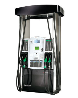 Gilbarco Horizon petrol pump